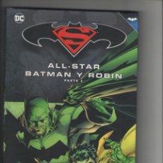 Cómics: ALL-STAR-BATMAN Y ROBIN-DC-SALVAT-AÑO 2016-COLOR-PARTE 2-CARTONE. Lote 103430147