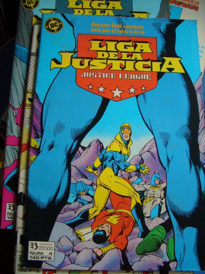 Cómics: LIGA DE LA JUSTICIA #4 (ZINCO, 1988) - Foto 3 - 97899819