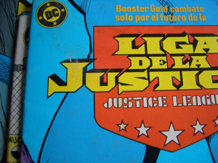 Cómics: LIGA DE LA JUSTICIA #4 (ZINCO, 1988) - Foto 4 - 97899819