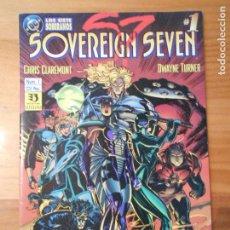 Comics: SOVEREIGN SEVEN - Nº 1 - LOS SIETE SOBERANOS - CHRIS CLAREMONT - ZINCO - DC (7H). Lote 103519719