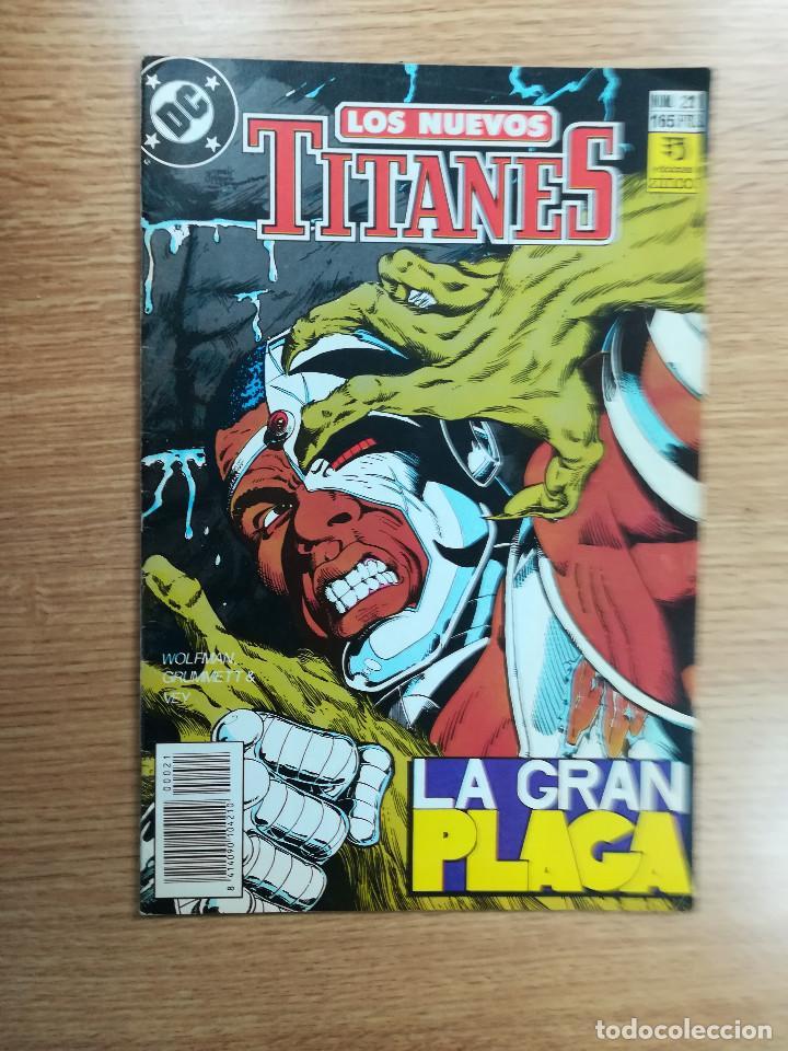 NUEVOS TITANES VOL 2 #21 (Tebeos y Comics - Zinco - Nuevos Titanes)