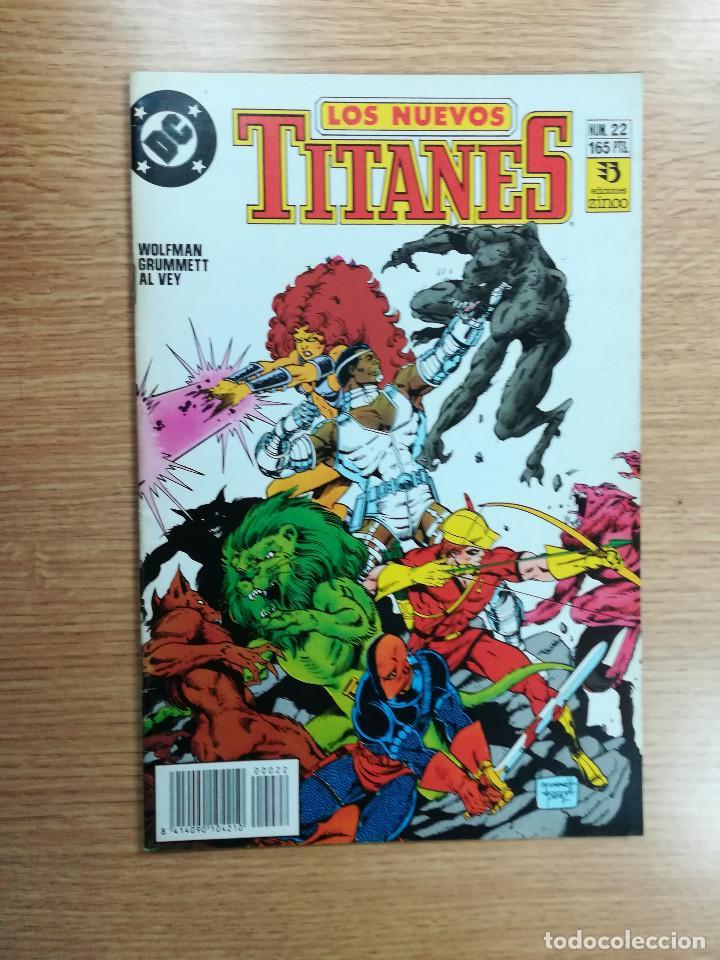 NUEVOS TITANES VOL 2 #22 (Tebeos y Comics - Zinco - Nuevos Titanes)