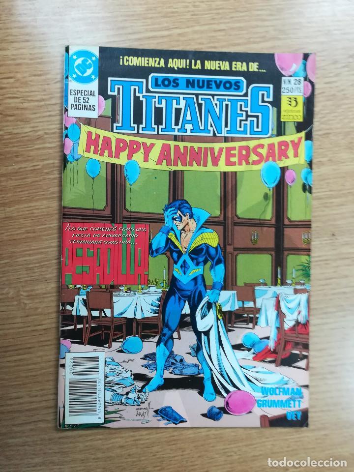 NUEVOS TITANES VOL 2 #28 (Tebeos y Comics - Zinco - Nuevos Titanes)