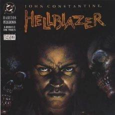 Cómics: JOHN CONSTANTINE HELLBLAZER HABITOS PELIGROSOS 1-3 ZINCO. Lote 103826499