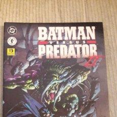 Cómics: BATMAN VERSUS PREDATOR II. ZINCO. TOMO. Lote 103856171