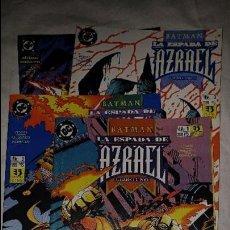 Cómics: BATMAN LA ESPADA DE AZRAEL COLECCION COMPLETA 4 NUMEROS EL ESTADO ES MUY BUENO . Lote 103995359