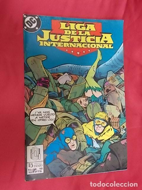 LIGA DE LA JUSTICIA INTERNACIONAL. Nº 18. EDICIONES ZINCO. (Tebeos y Comics - Zinco - Liga de la Justicia)
