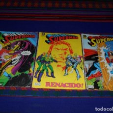 Cómics: ZINCO SUPERMAN VOL 1 NºS 11, 14, 22 Y 25. 95 PTS. 1985. REGALO Nº 34.. Lote 105264115
