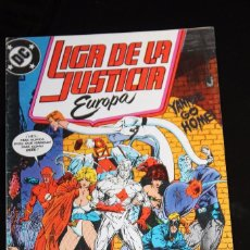 Cómics: LIGA DE LA JUSTICIA EUROPA 3 ZINCO. Lote 105388775