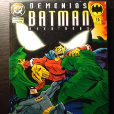 Cómics: BATMAN AVENTURAS - DEMONIOS. Lote 105611007