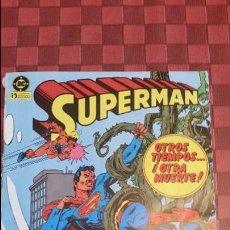 Cómics: COMIC SUPERMAN Nº 13 OTROS TIEMPOS OTRA MUERTE EDICIONES ZINCO AÑOS 80. Lote 105670967