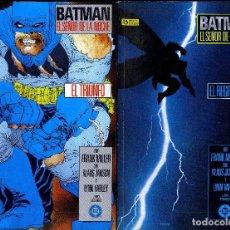 Cómics: BATMAN EL SR DE LA NOCHE FRABK MILLER 2 PREMIOS HAXTU UNA JOYA 1987 1ª EDICIÓN COMPLETA 4 TOMOS. Lote 105821299