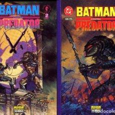 Cómics: BATMAN CONTRA PREDATOR 1ª EDICION 3 TOMOS COMPLETA GIBBONS ANDY Y ADAM KUBERT AÑO 1992. Lote 105822307