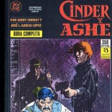 Cómics: CINDER Y ASHE COMPLETA PREMIO HAXTUR LO MEJOR GARCIA LOPEZ Y CONWAY 1ª EDICIÓN CAJA 23 + ISA ABAJ DE. Lote 105852655