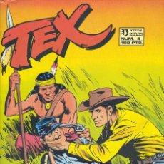 Cómics: TEX Nº4. ZINCO, 1988 . Lote 105941743