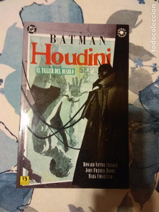 BATMAN HOUDINI EL TALLER DEL DIABLO(Tebeos y Comics - Zinco - Batman)