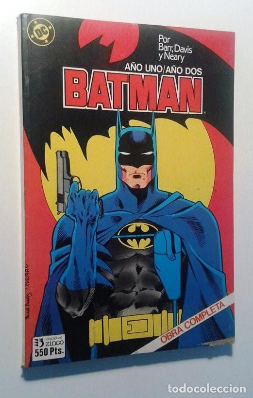 BATMAN AÑO UNO / AÑO DOS - COMPLETOS EN UN RETAPADO (Tebeos y Comics - Zinco - Batman)