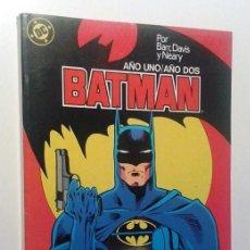 Cómics: BATMAN AÑO UNO / AÑO DOS - COMPLETOS EN UN RETAPADO. Lote 106475263