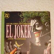 Cómics: LAS MEJORES HISTORIAS DE EL JOKER JAMAS CONTADAS. EDICIONES ZINCO. 1989.. Lote 106532971