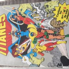 Cómics: NUEVOS TITANES VOL. 1 Nº 1 A 5 - DC (ZINCO - 1984). Lote 106564507