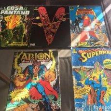 Cómics: LOTE DC 1984 ( INCLUYE ARION Nº 1 AL 5 Y SUPERMAN Nº 1). Lote 106565083