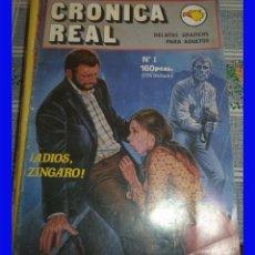 Cómics: CRONICA REAL N.º 1 COMIC EROTICO DE ADULTOS . Lote 106595555
