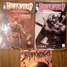 Cómics: HAWKWORLD. COMPLETA (TOMOS DEL 1 AL 3). EDICIONES ZINCO. SIN DESPRECINTAR. TIMOTHY TRUMAN.. Lote 106777219