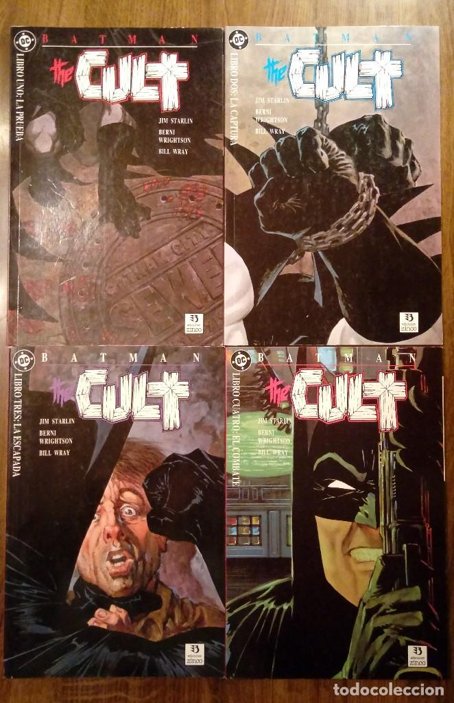 BATMAN THE CULT. EDICIONES ZINCO. COMPLETA (TOMOS DEL 1 AL 4). STARLIN Y WRIGTHSON. (Tebeos y Comics - Zinco - Prestiges y Tomos)