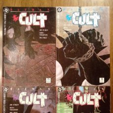 Cómics: BATMAN THE CULT. EDICIONES ZINCO. COMPLETA (TOMOS DEL 1 AL 4). STARLIN Y WRIGTHSON.. Lote 106778315