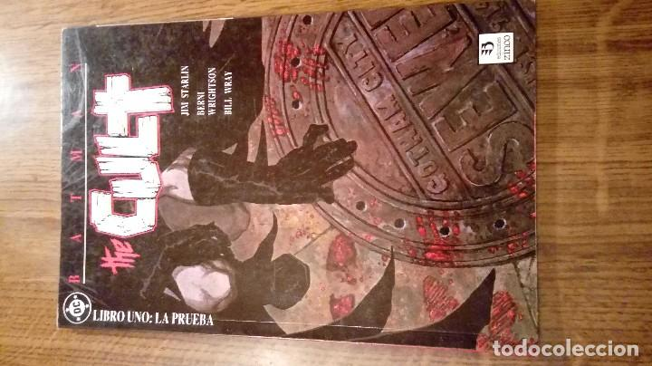 Cómics: BATMAN THE CULT. EDICIONES ZINCO. COMPLETA (TOMOS DEL 1 AL 4). STARLIN Y WRIGTHSON. - Foto 2 - 106778315