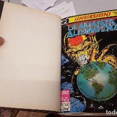 Cómics: INVASION ¡ COMPLETA 8 NUMEROS ! DC - ZINCO MILLENIUM. Lote 106916931