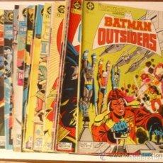 Cómics: 8 CÓMICS BATMAN Y LOS OUTSIDERS, VER LISTA PUBLICADA. Lote 241866085