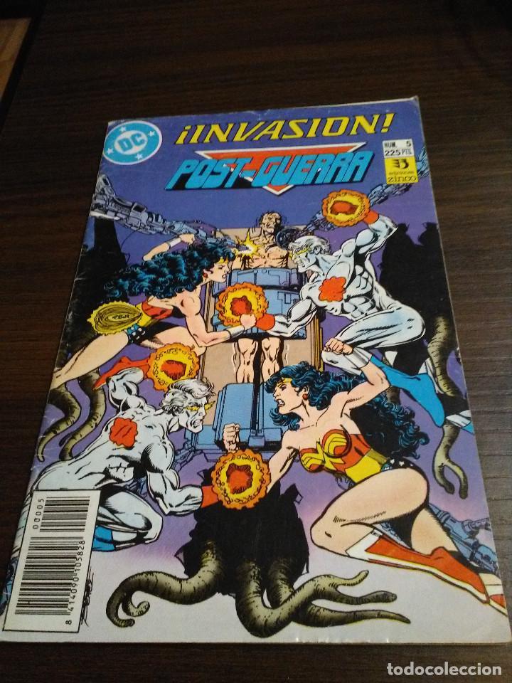 COMIC DC ZINCO SAGA INVASION Nº 5 POST GUERRA (Tebeos y Comics - Zinco - Otros)