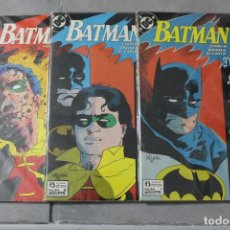 Cómics: BATMAN UNA MUERTE EN LA FAMILIA COMPLETA DEL 1 AL 3 ZINCO. Lote 107381883