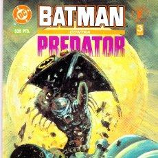 Cómics: BATMAN CONTRA PREDATOR. 3 PRESTIGIOS. COMPLETA. ZINCO Y NORMA.. Lote 107689951