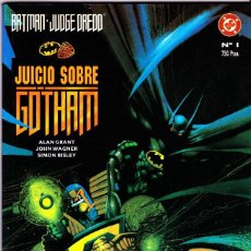 Cómics: BATMAN - JUDGE DREDD. JUICIO SOBRE GOTHAM. ZINCO 1992. Lote 107691711