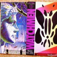 Cómics: LOTE DE 2 COMICS DE WATCHMEN, 1987, NÚMEROS 2 Y 6. Lote 107884327