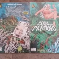 Cómics: LA COSA DEL PANTANO_MINISERIE 4 EPISODIOS_COMPLETA_ ALAN MOORE. Lote 107933827