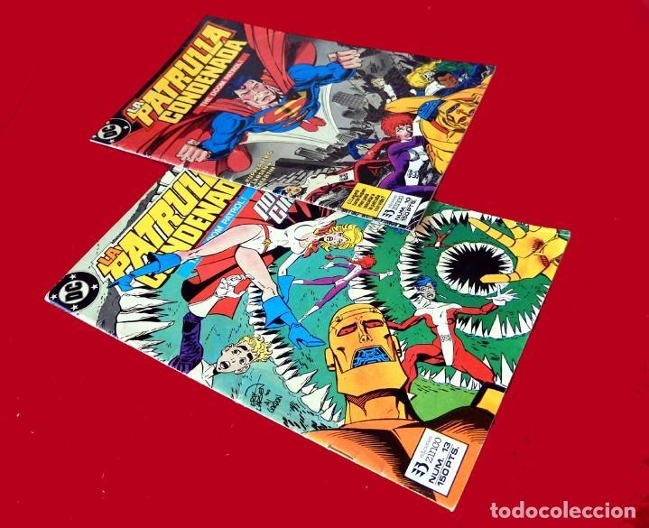 Cómics: LA PATRULLA CONDENADA, DC, LOTE 2 COMIC; Nº 10 Y 13 - EDICIONES ZINCO. AÑO 1988, 150 PTS. ORIGINALES - Foto 2 - 107937911