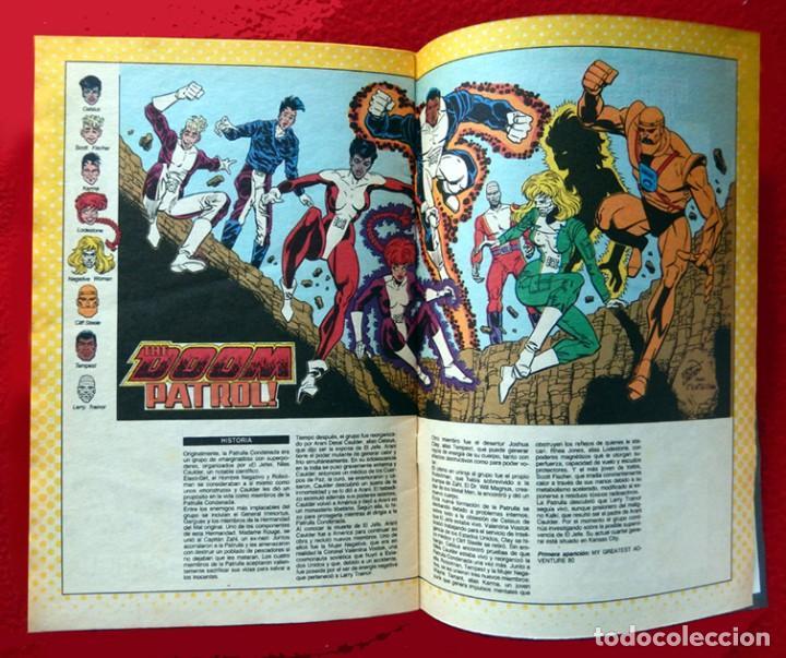 Cómics: LA PATRULLA CONDENADA, DC, LOTE 2 COMIC; Nº 10 Y 13 - EDICIONES ZINCO. AÑO 1988, 150 PTS. ORIGINALES - Foto 4 - 107937911