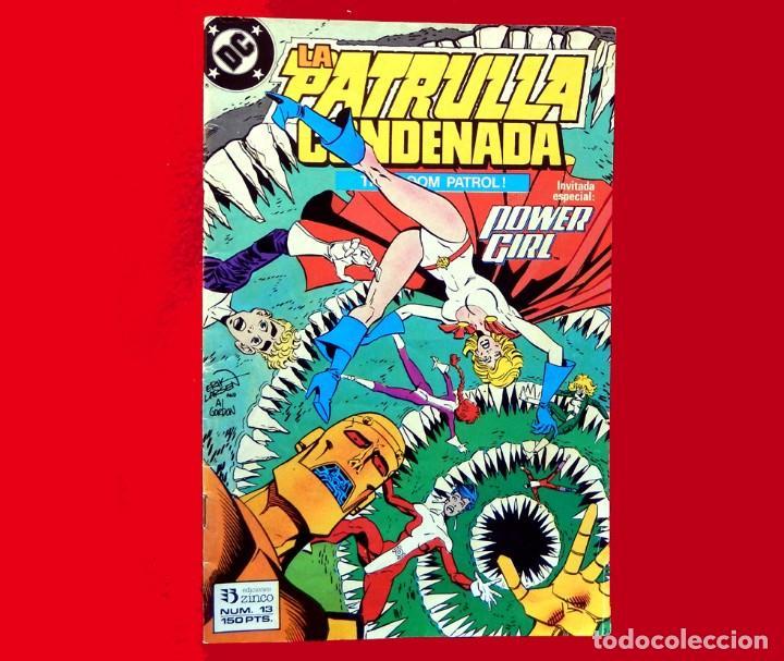 Cómics: LA PATRULLA CONDENADA, DC, LOTE 2 COMIC; Nº 10 Y 13 - EDICIONES ZINCO. AÑO 1988, 150 PTS. ORIGINALES - Foto 7 - 107937911