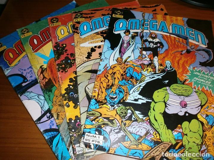 OMEGA MEN - Nº 1, 2, 3, 4, 5 - ED. ZINCO 1984. (Tebeos y Comics - Zinco - Otros)