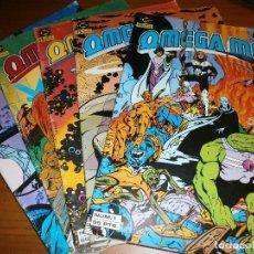 Cómics: OMEGA MEN - Nº 1, 2, 3, 4, 5 - ED. ZINCO 1984.. Lote 108269471