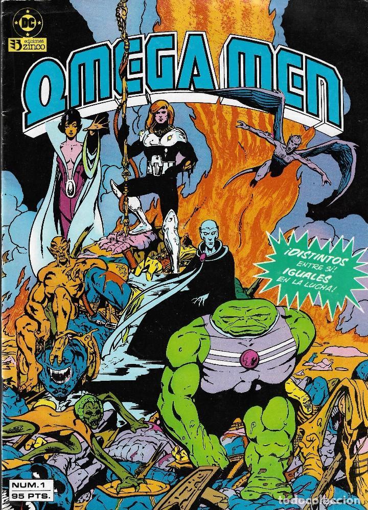 Cómics: OMEGA MEN - Nº 1, 2, 3, 4, 5 - Ed. Zinco 1984. - Foto 2 - 108269471