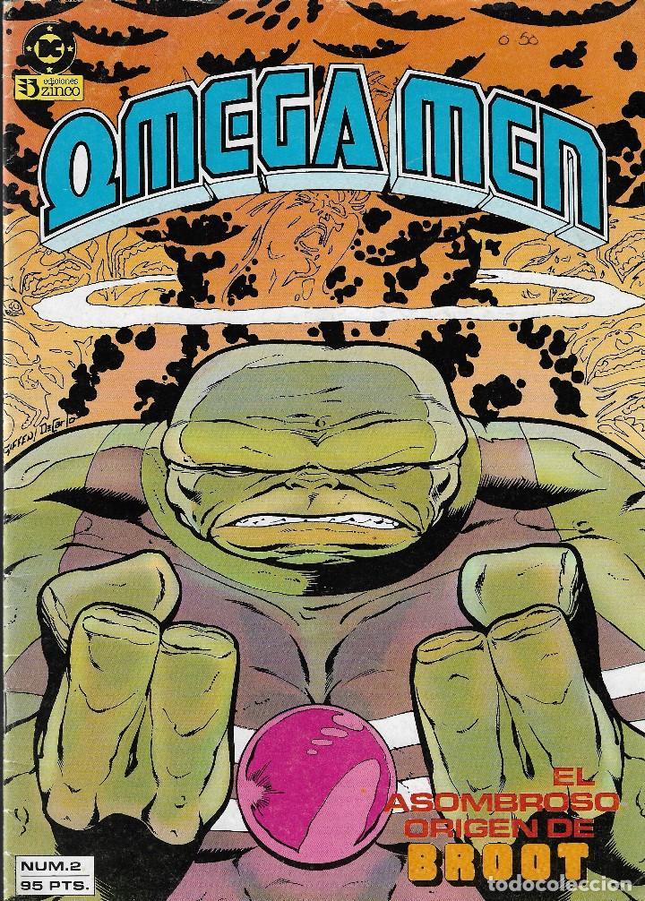 Cómics: OMEGA MEN - Nº 1, 2, 3, 4, 5 - Ed. Zinco 1984. - Foto 3 - 108269471