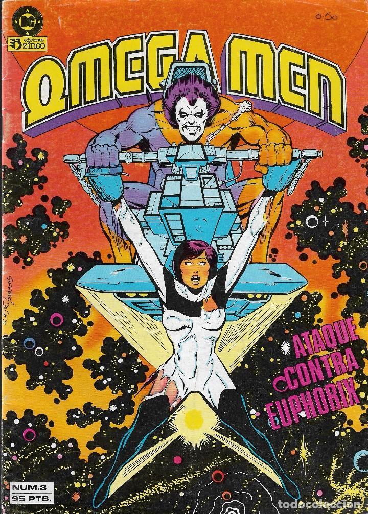 Cómics: OMEGA MEN - Nº 1, 2, 3, 4, 5 - Ed. Zinco 1984. - Foto 4 - 108269471