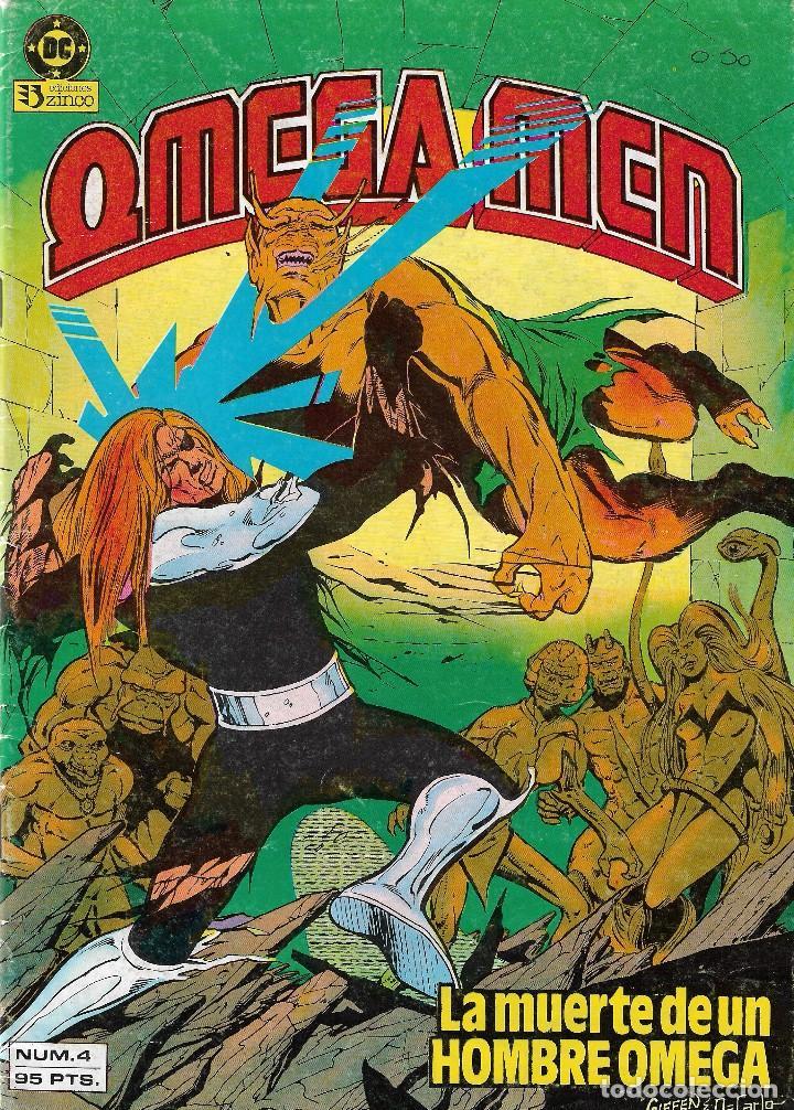 Cómics: OMEGA MEN - Nº 1, 2, 3, 4, 5 - Ed. Zinco 1984. - Foto 5 - 108269471