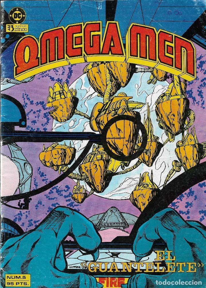 Cómics: OMEGA MEN - Nº 1, 2, 3, 4, 5 - Ed. Zinco 1984. - Foto 6 - 108269471