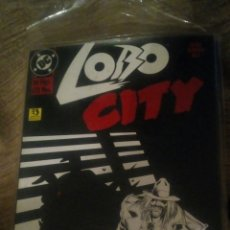 Cómics: LOBO CITY.. Lote 108342128