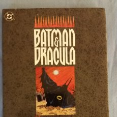 Cómics: BATMAN Y DRACULA LLUVIA ROJA ZINCO IMPECABLE ESTADO. Lote 108536895